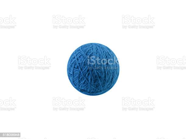 Clew of blue wool thread isolated on white picture id518058948?b=1&k=6&m=518058948&s=612x612&h= 9d9rn0smovminvc2g4owngo8r50zosmzb4hl62xrry=