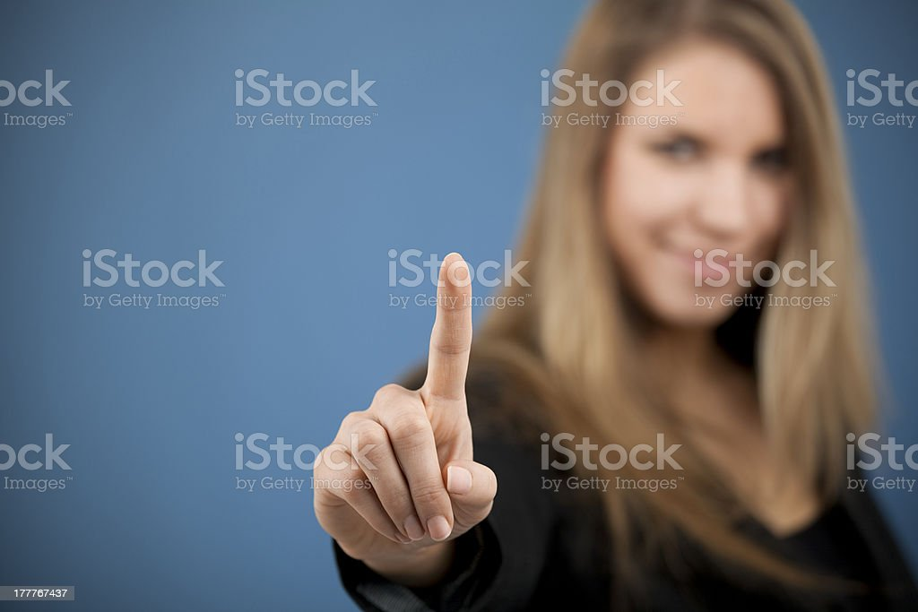 Click, tap royalty-free stock photo