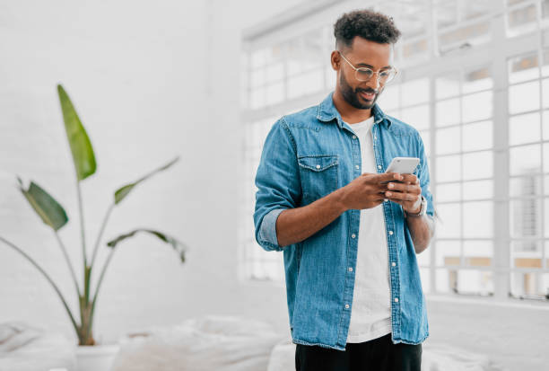 Client management made easier with mobile tech stock photo