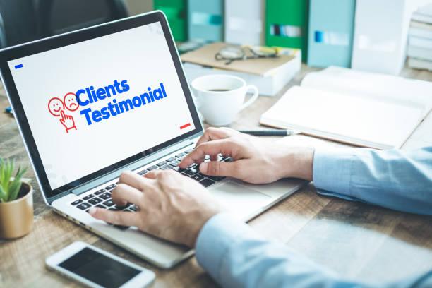 Kunden-Testimonial-Konzept – Foto