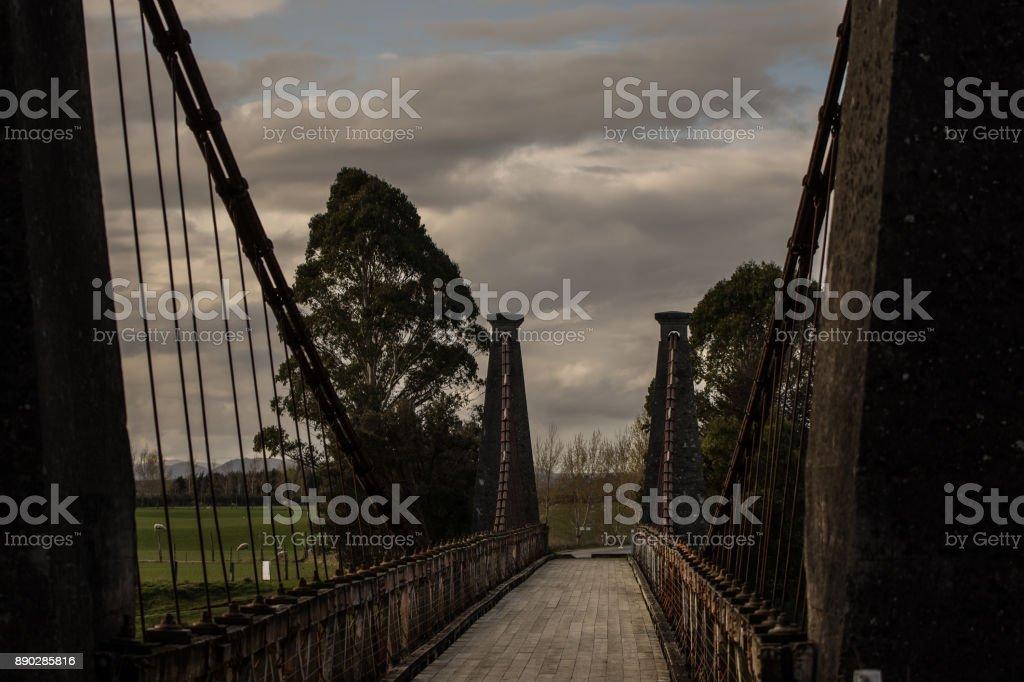 Clifden bridge stock photo