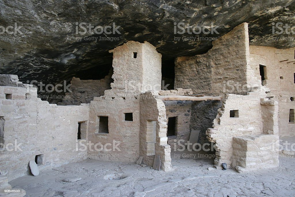 Cliff Dwellings royalty-free stock photo
