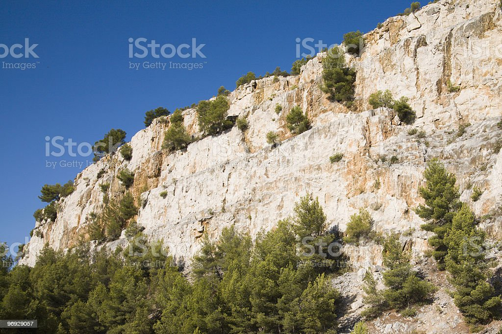 Cliff Face - Close Up royalty-free stock photo
