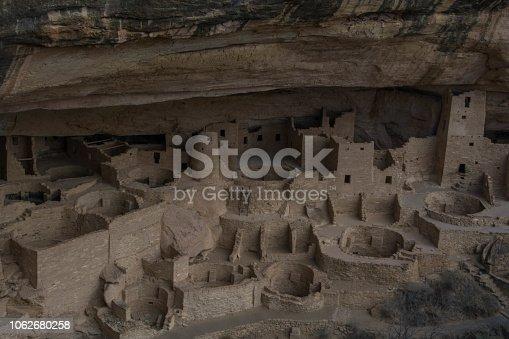 Cliff dwellings in Colorado