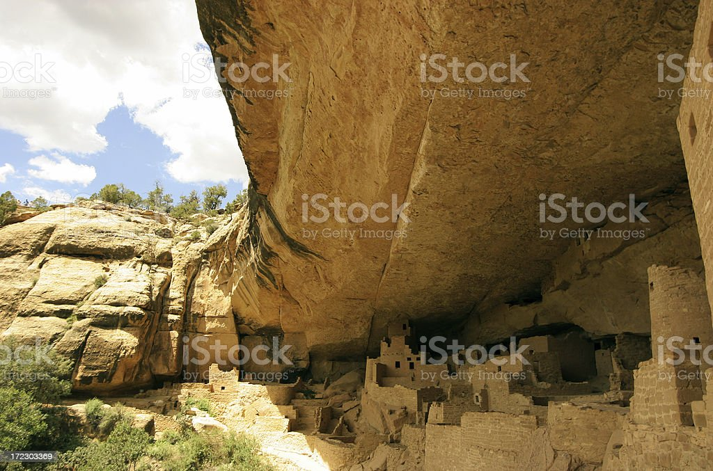 Cliff Palace stock photo