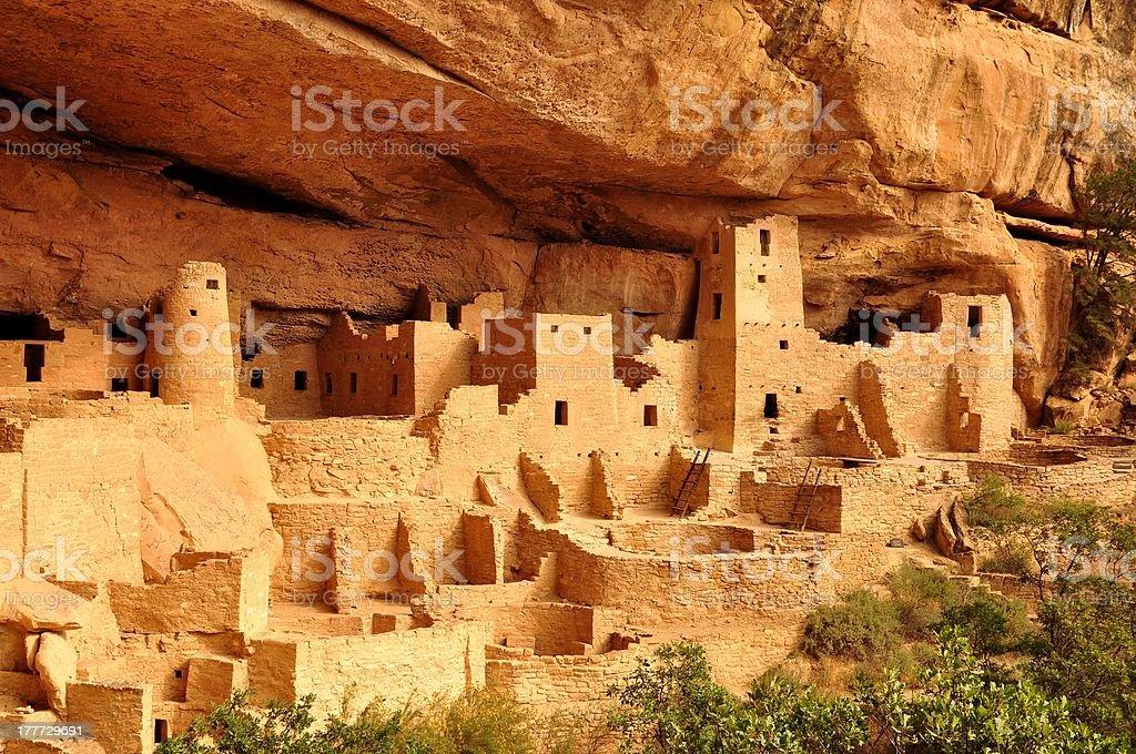 Cliff Palace stock photo
