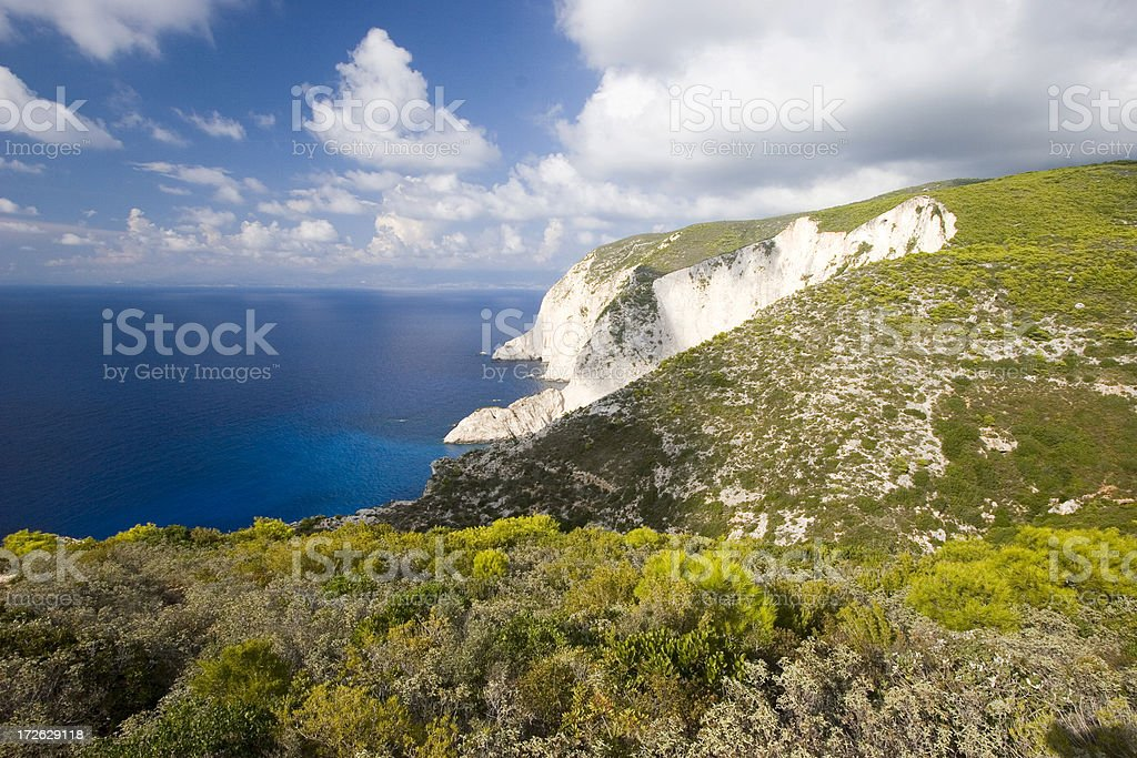 Cliff stock photo