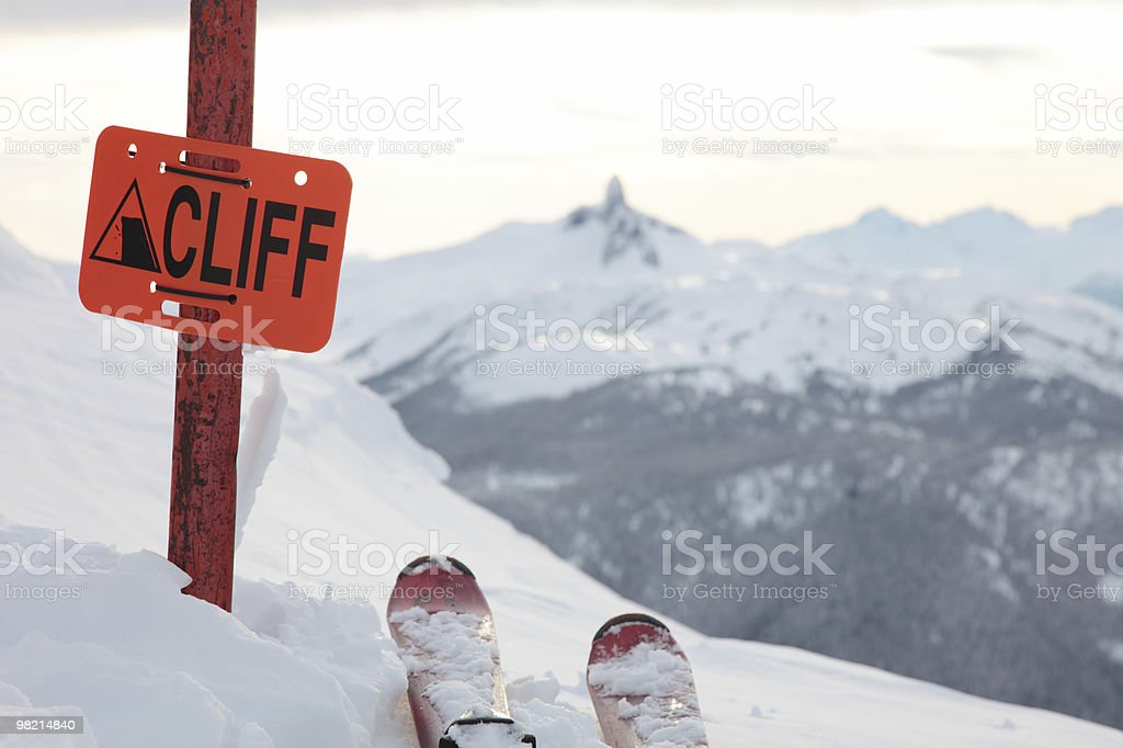 Cliff foto stock royalty-free