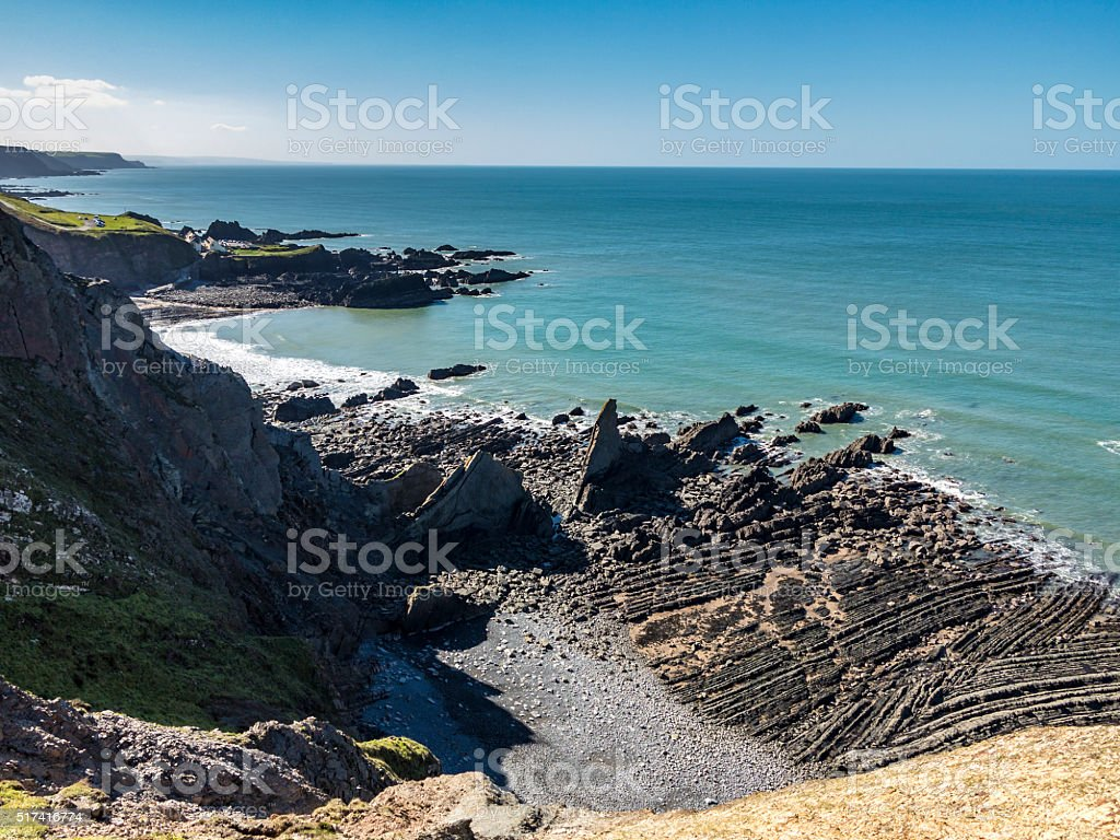 Cliff Side stock photo
