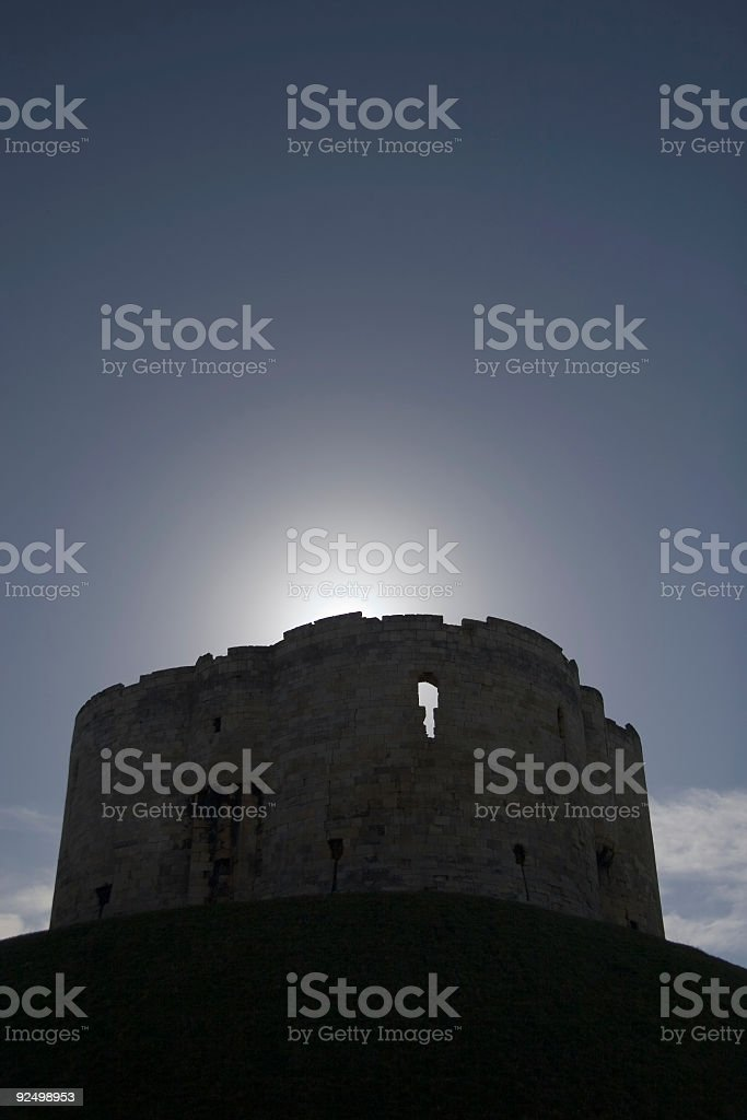 Clifford's tower York royalty-free stock photo