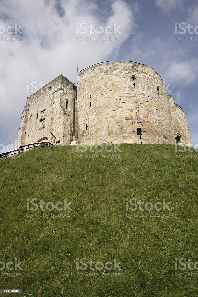cliffords tower2 royalty-free stock photo