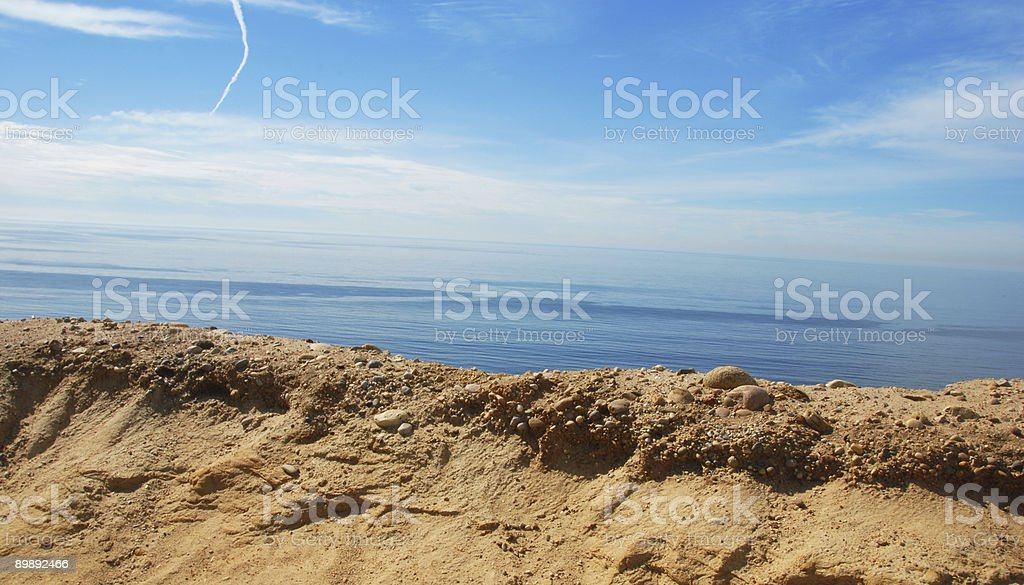 Cliffs and Ocean royalty-free stock photo