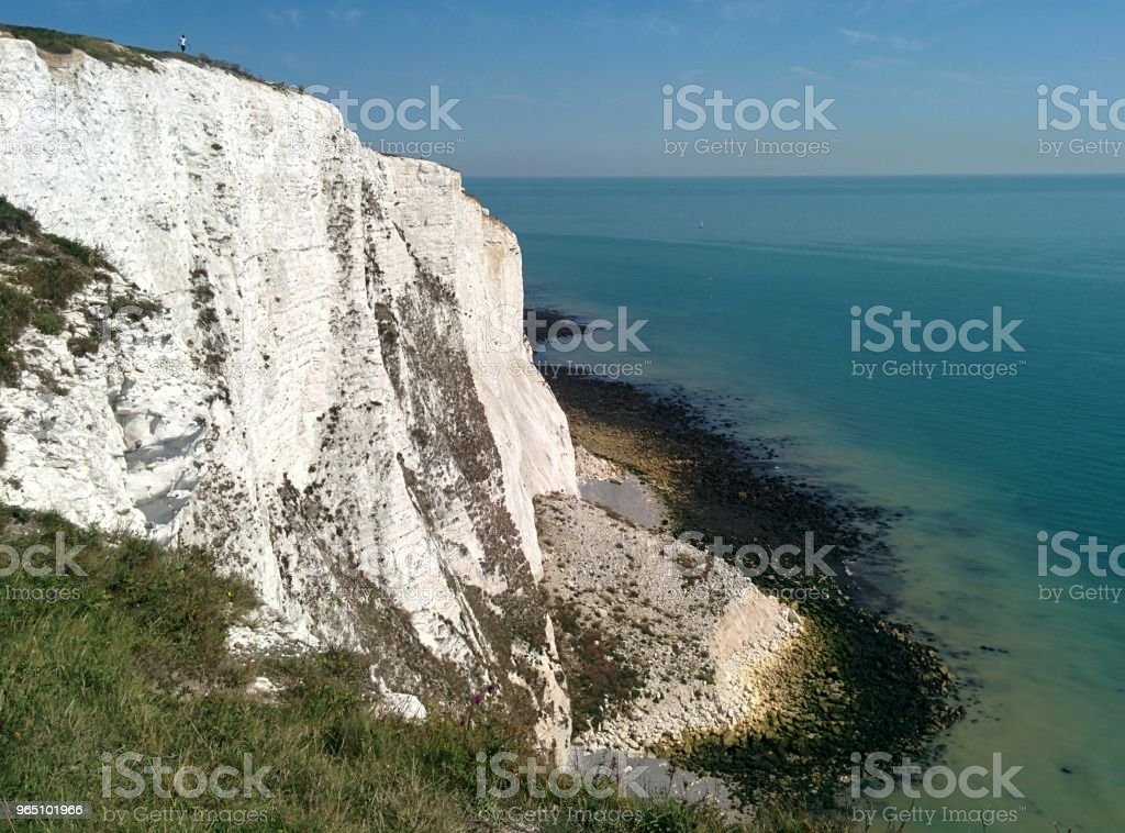 Cliffs and Sea royalty-free stock photo