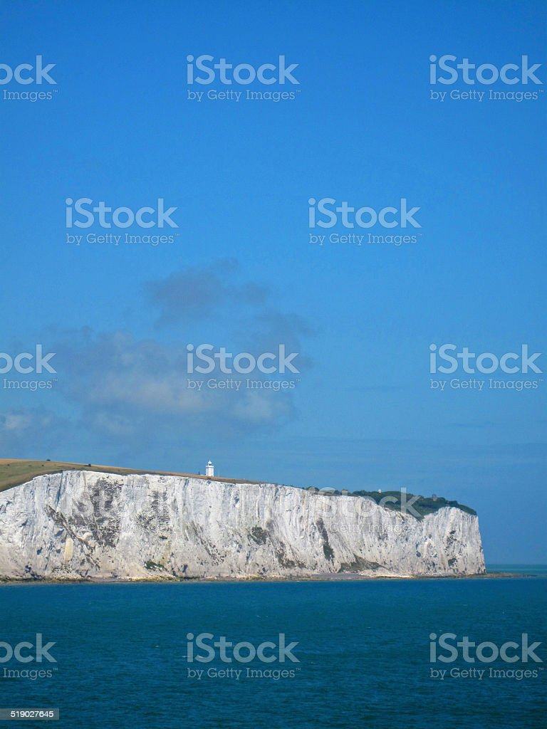 Cliffs of Dover stock photo