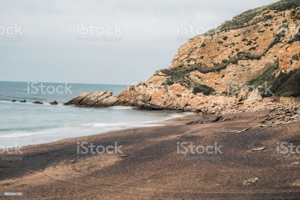 Cliffs of Getxo 免版稅 stock photo