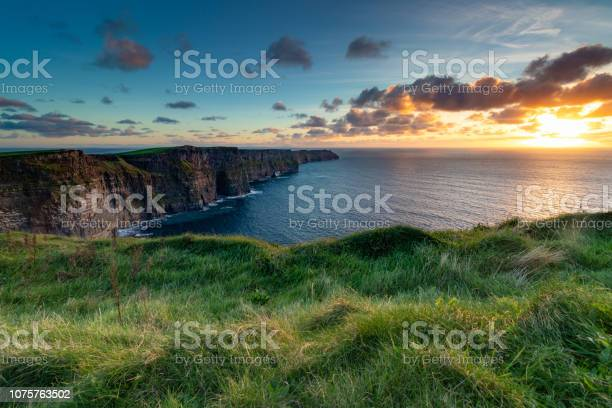 Photo of Cliffs of Moher at Sunset