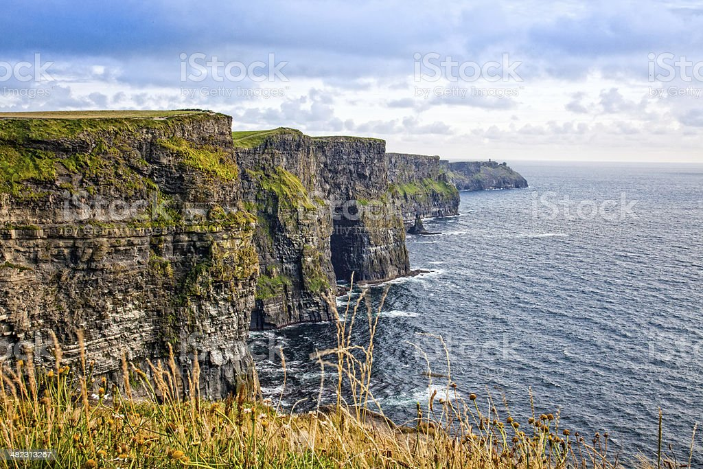 Cliffs of Moher, Clare Coast, Ireland royalty-free stock photo