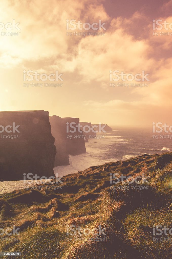 Cliffs of Moher , County Clare, Ireland stock photo