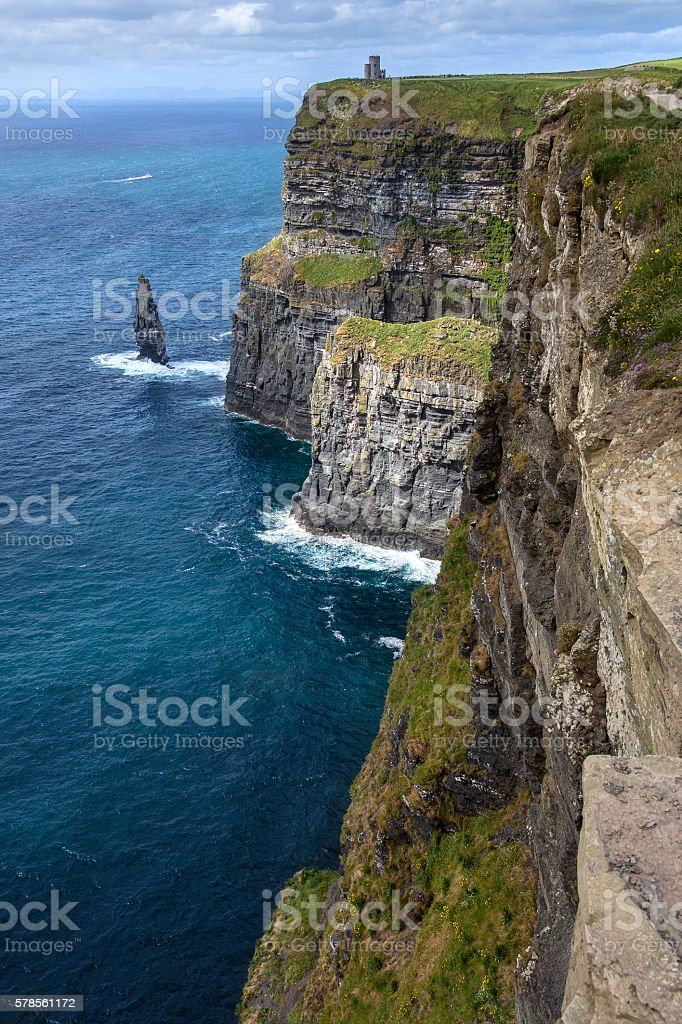 Cliffs of Moher - County Clare - Ireland stock photo