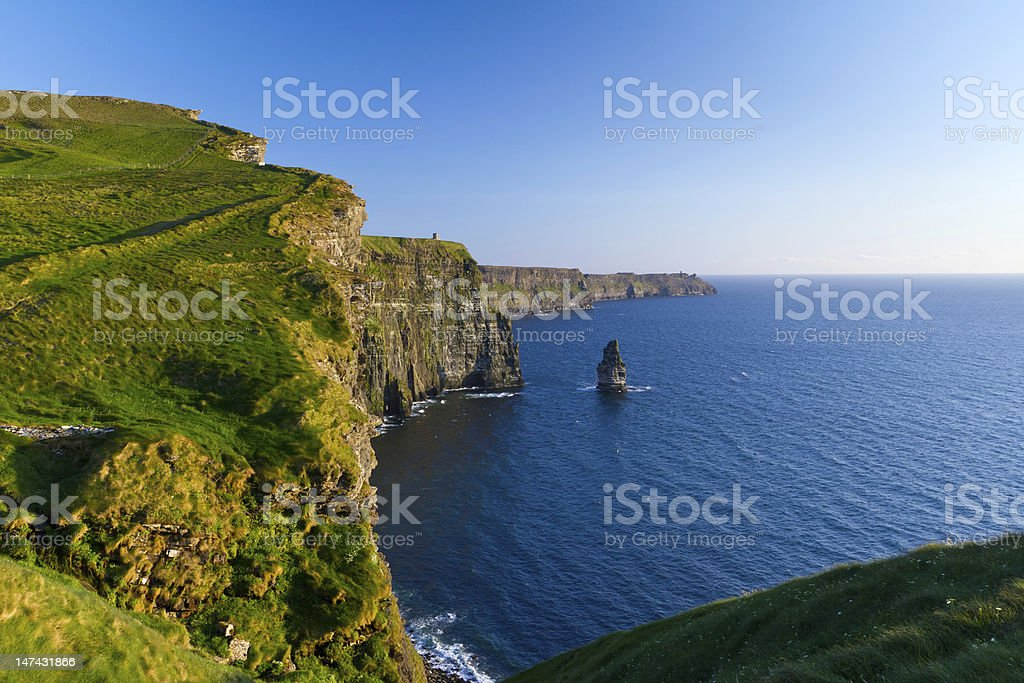 Cliffs of Moher in Ireland royalty-free stock photo