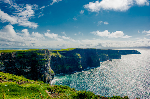 Cliffs Of Moher In Ireland Stock Photo - Download Image Now