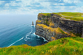 The famous location in County Clare in Ireland