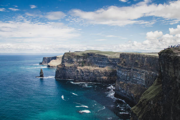 cliffs of moher - ireland - the burren stock pictures, royalty-free photos & images