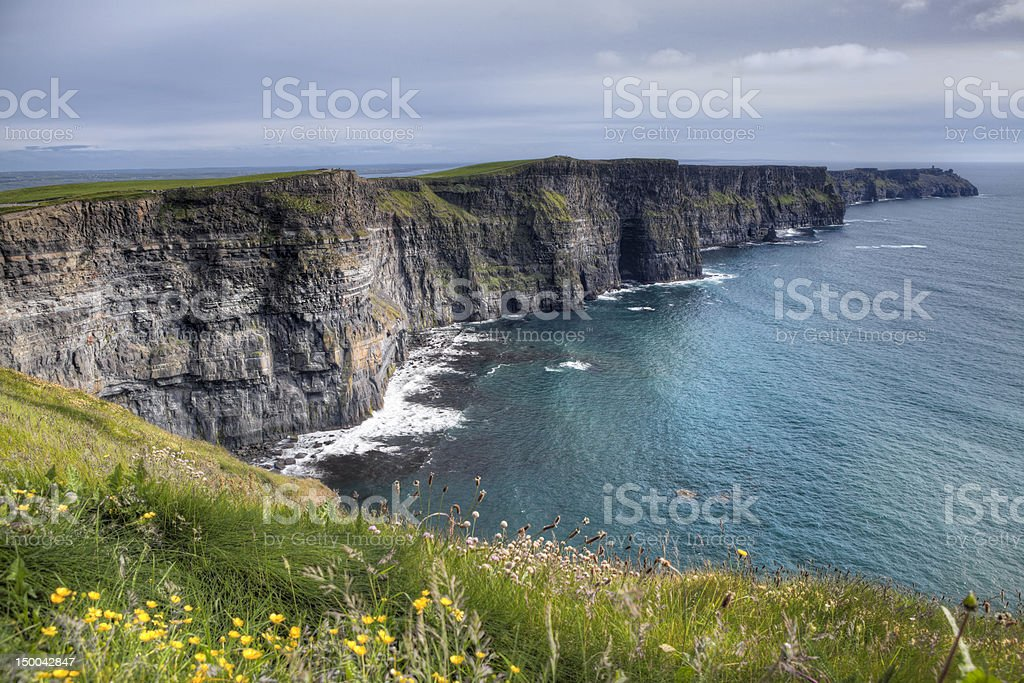 Cliffs of Moher, Ireland stock photo