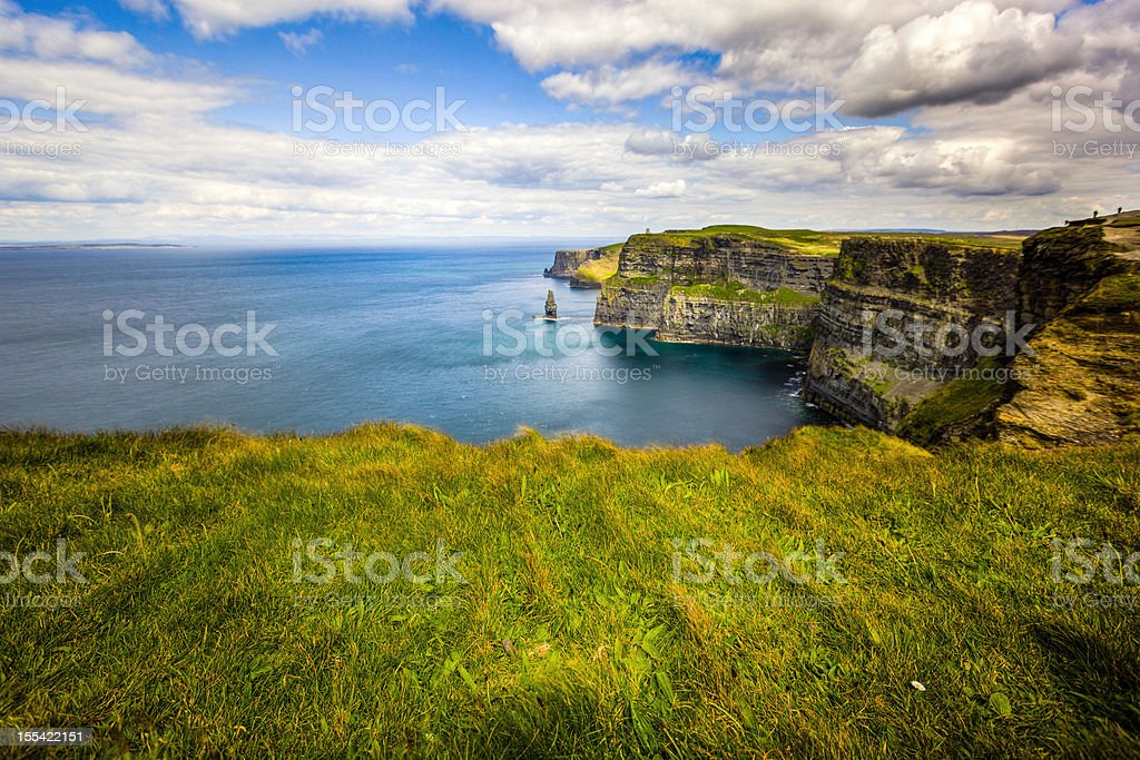 Cliffs of Moher, Ireland, stock photo