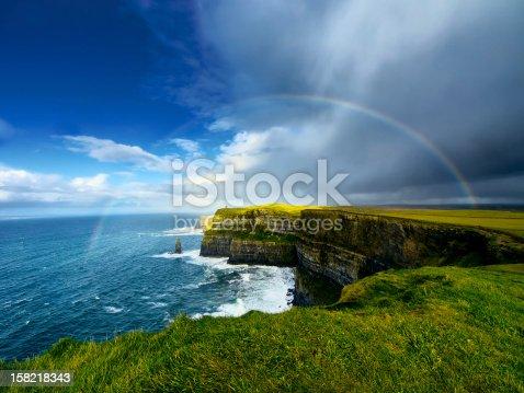 istock Cliffs of Moher. Ireland. 158218343