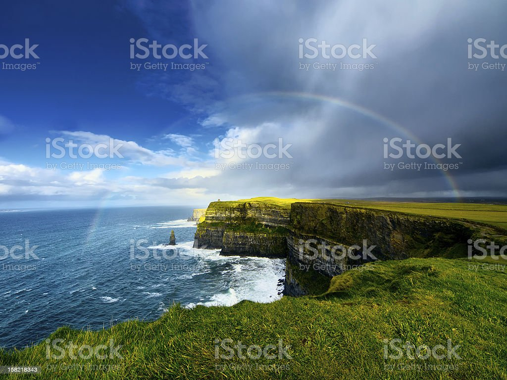 Cliffs of Moher. Ireland. stock photo