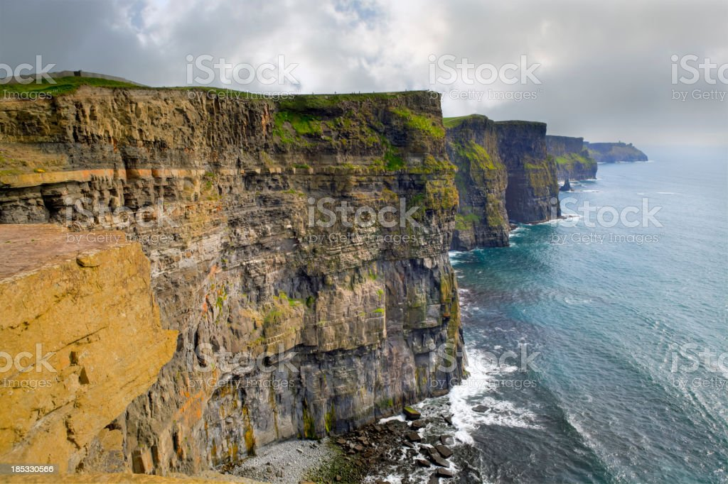 Cliffs of Moher, Ireland royalty-free stock photo