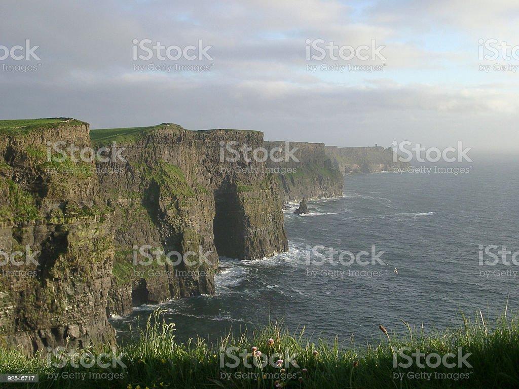 cliffs of Moher, Ireland west coat coast scene royalty-free stock photo