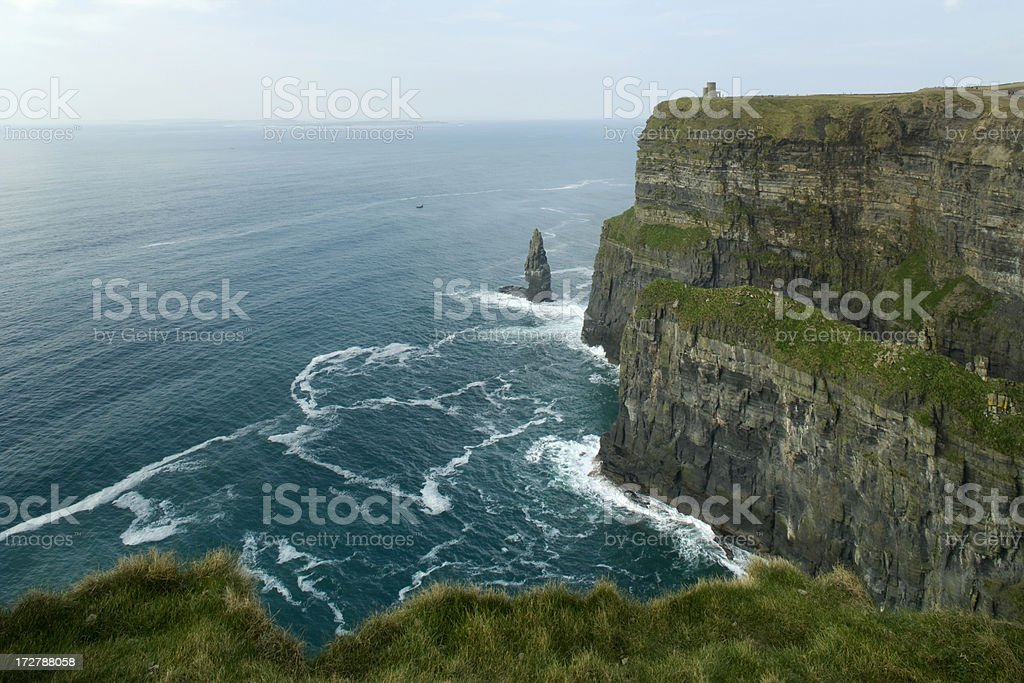 Cliffs of Moher. royalty-free stock photo