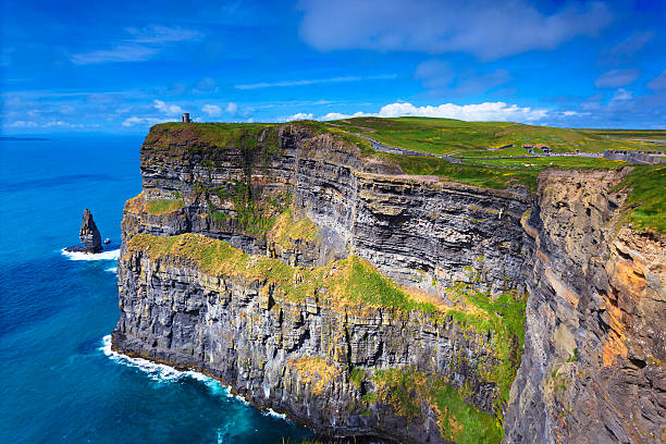 cliffs of moher - the burren stock pictures, royalty-free photos & images