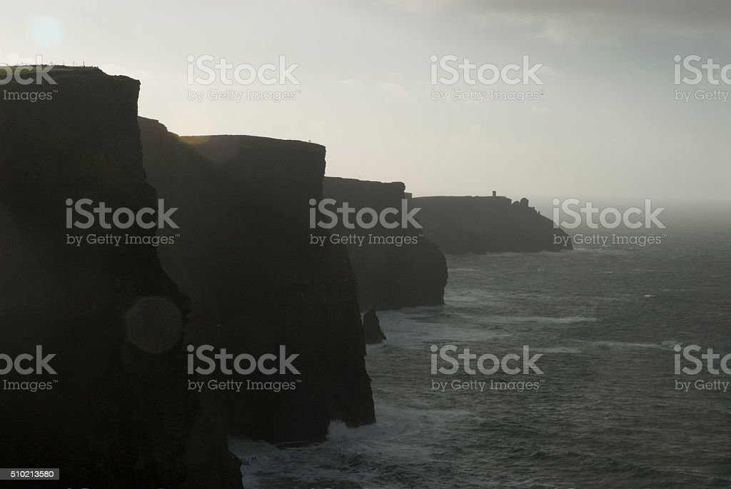 Cliff's of Moher stock photo