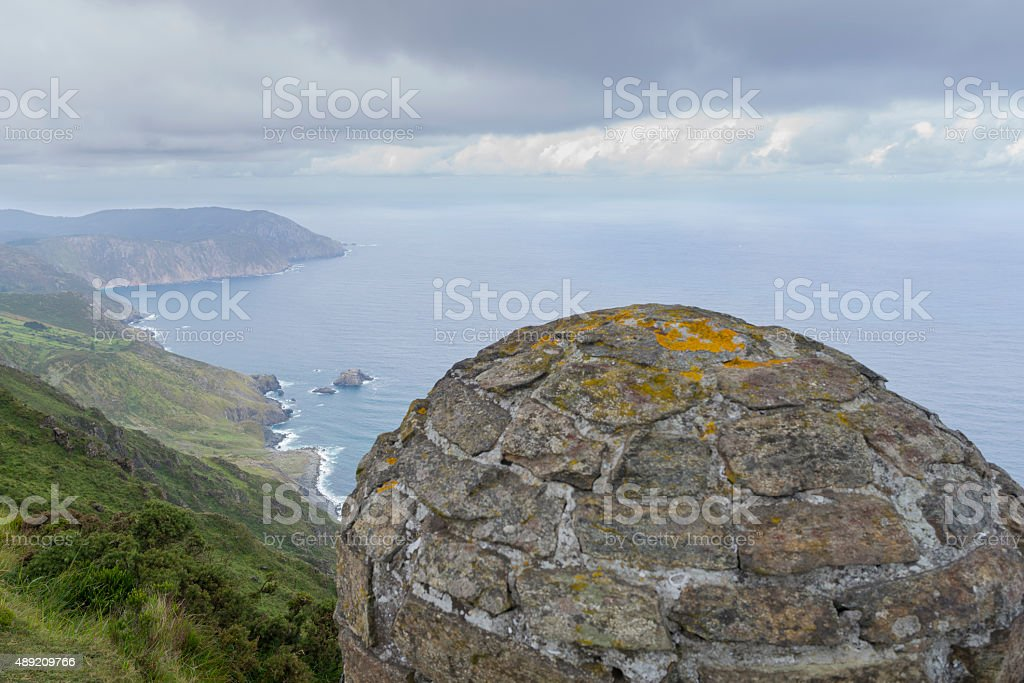 Cliffs. stock photo