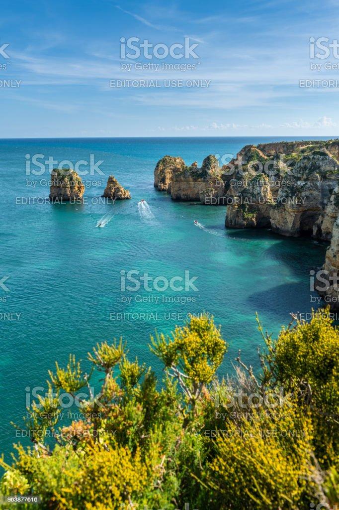 Cliffs view on Lagos, Algarve - Royalty-free Algarve Stock Photo