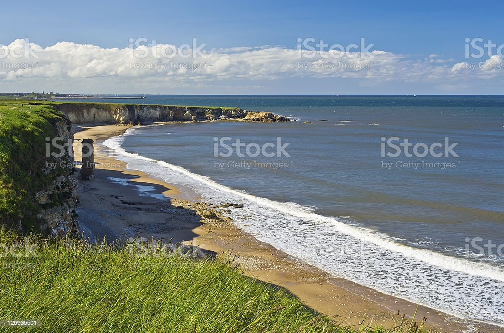 Clifftop Coastline stock photo