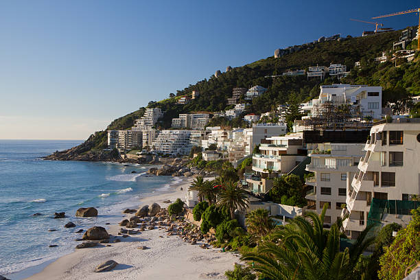 Clifton beach The Clifton beach front in Cape Town, South Africa western cape province stock pictures, royalty-free photos & images