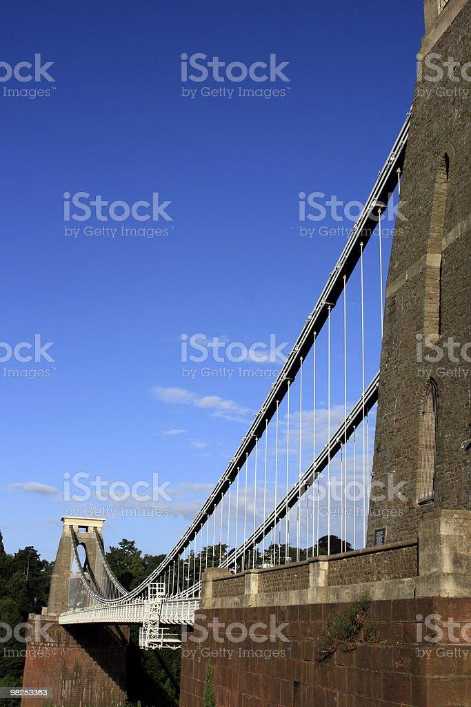 Clifton Bridge royalty-free stock photo