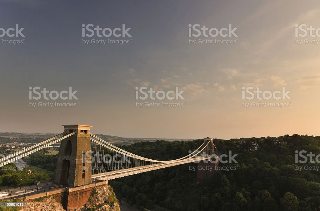 Clifton Suspension Bridge Click to view more - Blue Stock Photo