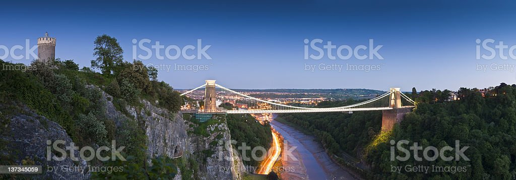 Clifton Suspension Bridge, UK stock photo
