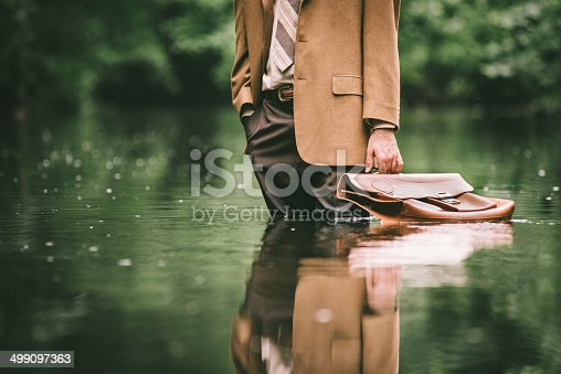 istock Climate Change as Economic Issue 499097363
