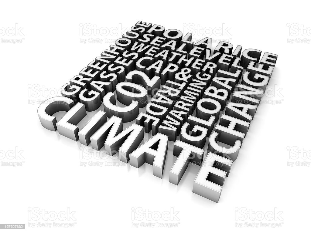 Climate change concept royalty-free stock photo
