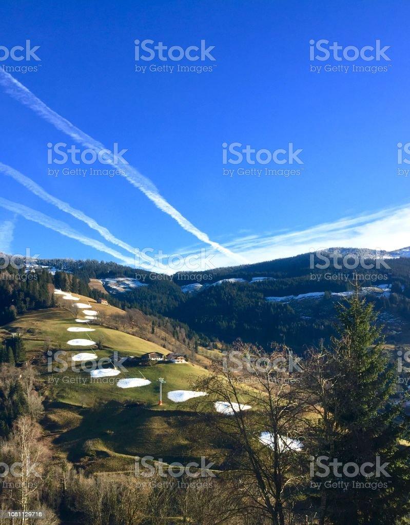 Klimawandel Dekoschnee, Wintersport zu speichern – Foto