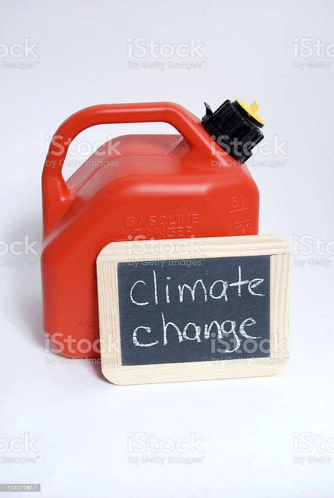 Climate Change, Fuel Concept stock photo