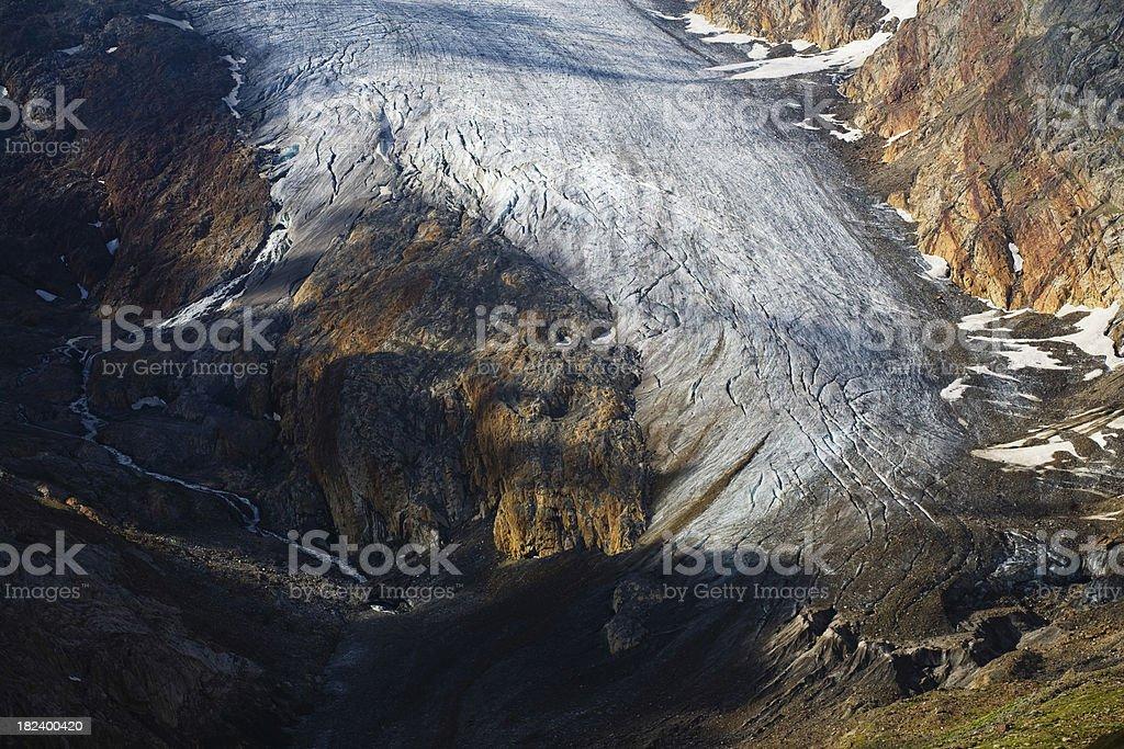 Climate Change: Melting Glacier royalty-free stock photo
