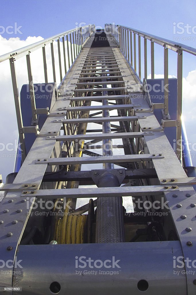 climb to the clouds royalty-free stock photo