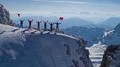 climb to the highest mountain range of the mediterranean region